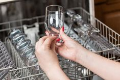 shutterstock Take Out, Cleaning Hacks, Red Wine, Dishwasher, Printer, Household, Hands, Dishes, Tips