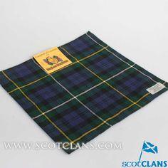 Campbell of Loudon Tartan Handkerchief