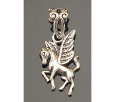 Pegasus Pendant Sterling Silver