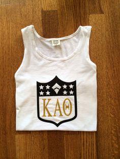 Comfort Colors NFL Draft Inspired Kappa Alpha Theta Tank on Etsy, $24.99