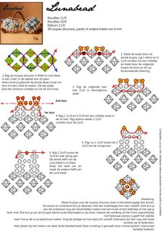 Beaded beads tutorial Lunabead.
