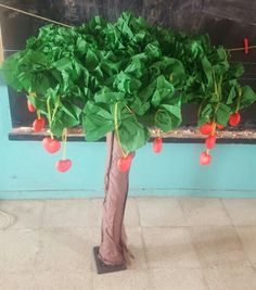 Toplama işlemi için ağaç yapımı~malzemeler büyük bi rulo(gövde için), dallar…