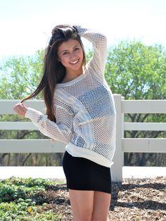 Spring time knits @dolledupfashions