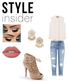 """Untitled #21"" by janessaajassoo on Polyvore featuring Miss Selfridge, Lime Crime, Apt. 9, Forever 21, MANGO, contestentry, laceupsandals and PVStyleInsiderContest"