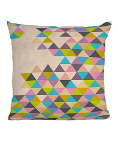 Take a look at this Completely Incomplete Bianca Green Throw Pillow by DENY Designs on #zulily today!