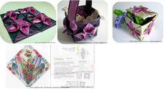 Técnicas de patchwork,quilting,origami..120