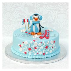 Penguin Cake Ideas on Pinterest Penguin Cakes, Cake ...