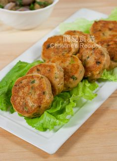 泰式煎魚餅 Thai Curry Fish Cakes01