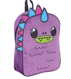 So So Happy 16 inch Puff Backpack - Purple for $34.03