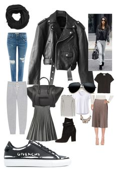 Increase your Look with Leather Jacket by fetty-mediacomm on Polyvore featuring polyvore, Weekend Max Mara, prAna, Jean-Paul Gaultier, Splendid, Pepe Jeans London, Prada, Givenchy, Sergio Rossi, CÉLINE, MANGO, fashion, style and clothing
