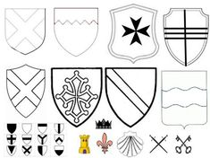 Home Decorating Style 2020 for Coloriage Blason Moyen Age, you can see Coloriage Blason Moyen Age and more pictures for Home Interior Designing 2020 at Coloriage Kids. Preschool Colors, Preschool Crafts, Shield Drawing, Castles Topic, Castle Crafts, Dragon Birthday Parties, American Heritage Girls, Medieval Party, Knight Party