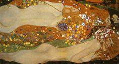 Gustav Klimt/「水蛇Ⅱ」1904-07