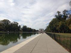 Constitution gardens in Washington DC