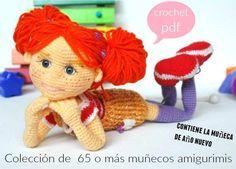 Patrones Crochet: Amigurimis coleccion de 65 o mas patrones en pdf