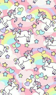 We heart it. unicorn rainbow pattern ☆ find more kawaii android + iphone wallpapers Iphone Wallpaper Unicorn, Unicorn Backgrounds, Unicornios Wallpaper, Handy Wallpaper, Cute Backgrounds, Pattern Wallpaper, Wallpaper Backgrounds, Iphone Wallpapers, Vintage Wallpapers