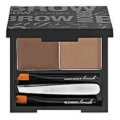 Benefit Cosmetics - Brow Zings. This kit is worth every penny of its $30+ price. It's the only product that lasts all day for me, and I do playground duty every day in Florida. My kit is still going strong after purchase about 2 years ago.
