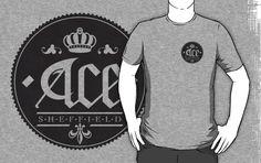 Ace, Sheffield Tee - The Small Dark Emblem £17.24