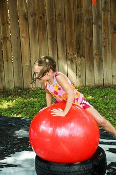 Wipeout Birthday Party - an awesomely fun kid party!