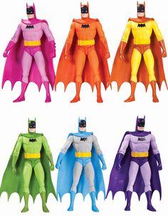 Batman Rainbow Action Figures