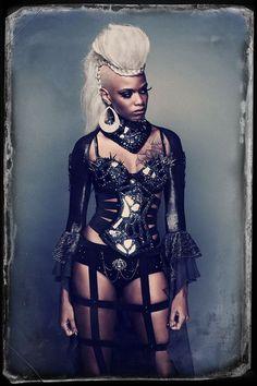 sekigan: Model: Jacqueline-Elizabeth Cottrell | MyCiberPunk | Pinterest