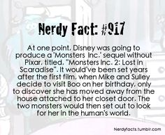 I LOVE Monsters University but this would have been so awesome!!!