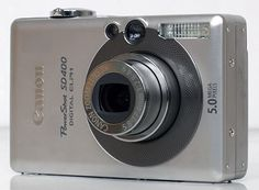 One of several Elphs we have owned. This is the Canon PowerShot SD400.