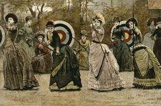 Bustle archery games