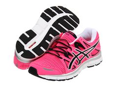 the latest 8dad7 1a84f ASICS GEL-Blur33™ 2.0 Hot Pink Black White - Zappos.com
