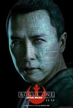 映画「ローグ・ワン/スター・ウォーズ・ストーリー」のキャラクターポスターが公開 8