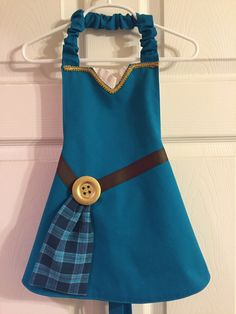 Merida Brave Inspired Apron by LittleNuggetCreation on Etsy
