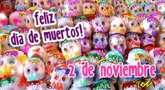 Feliz dia de los muertos calaveras - Imagenes con Frases, Fotos y ...