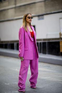 Look alfaiataria rosa