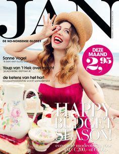 Sanne Vogel   Cover JAN Magazine 6-2011  art direction Brenda Bakker