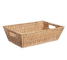 "Savannah Underbed Basket, Medium (22"" x 14"")"