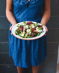 Salade fraîche à la burrata