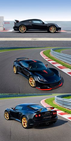Lotus Exige LF1 - nope it's not a beuty but pure fun driving pleasure .