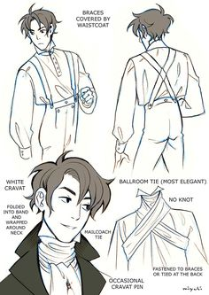 here're my Regency evening dress notes. Hope they can be useful.