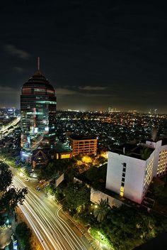 Surabaya #nightscape #citylights