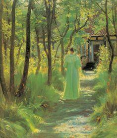 Plakat<br>P.S. Krøyer<br>Sommer : vis
