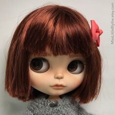 Un preferito personale dal mio negozio Etsy https://www.etsy.com/it/listing/589016290/ooak-custom-blythe-doll-fake-alina