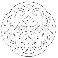 Celtic Applique by Michelangeline on DeviantArt Scroll Saw Patterns Free, Wood Patterns, Quilt Patterns, Stencils, Stencil Templates, Celtic, Cnc Cutting Design, Geometric Quilt, Shrink Art