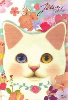 Flower Jetoy Postcard - available