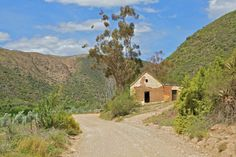 Swartberg mountains near Oudtshoorn in the Klein Karoo. Landscape Photos, Landscape Photography, Places To Travel, Places To Visit, Country Art, Travel Images, Pictures To Paint, Abandoned Places, The Great Outdoors