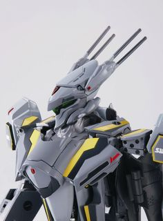 Amazon.com: DX Chogokin VF-25S Messiah Valkyrie (Ozma Lee Custom) Renewal version Macross F Bandai [JAPAN]: Toys & Games