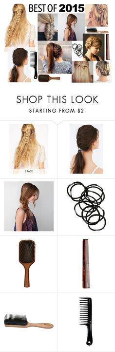 """""""Braids - The best of all Times"""" by gabriele-bernhard ❤ liked on Polyvore featuring beauty, Love Rocks, JEM, American Eagle Outfitters, Rebecca Minkoff, Monki, Aveda, Mason Pearson, Denman and bestof2015"""