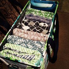 """My new wrap tote!"" - Sarah D #thirtyone #largeutilitytote #tekhniwovens"