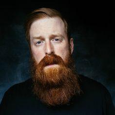 full thick long red beard and big mustache beards bearded man men ginger redhead