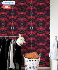 Adesivos de Parede 100% exclusivos na ShopKola. Papel de parede adesivo Maxiestampa Free as a Bird I o adesivo de parede da ShopKola.