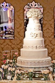 Bolo de Casamento - Wedding Cake