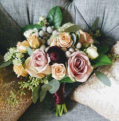 Bridesmaid bouquet by Studio AG Design